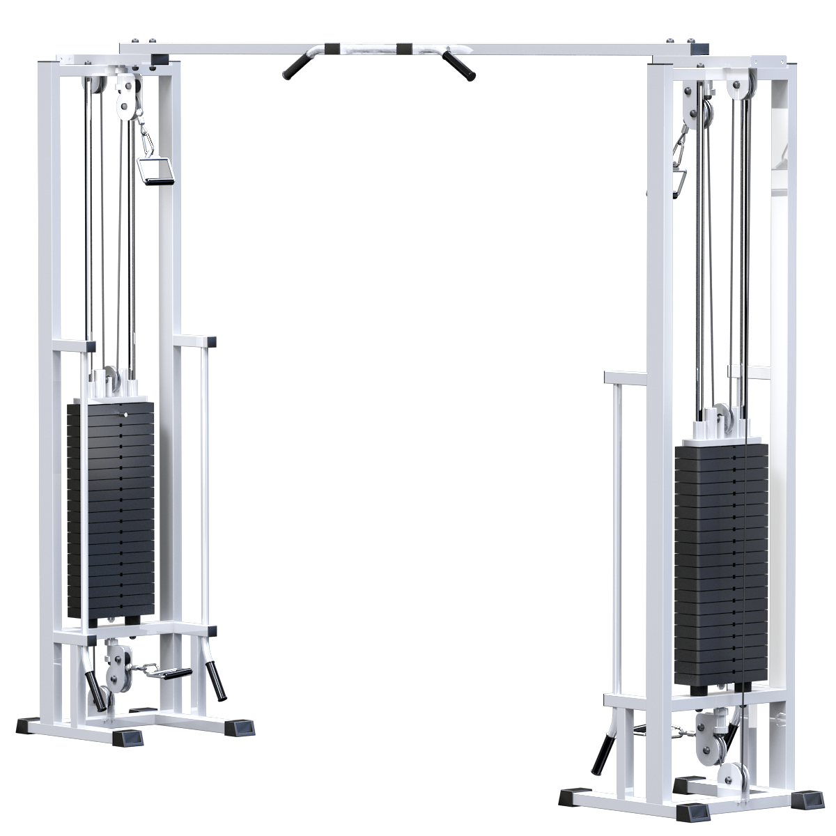 Кроссовер на базе реабилитационной рамы (стек 2х100кг) (AR082.2х100)