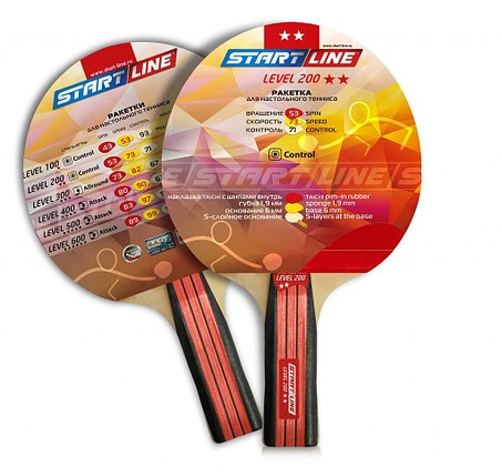 Ракетка теннисная Start Line Level 200 - для начинающих игроков и любителей, фото 2