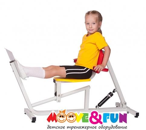Детский тренажер Жим ногами 5-8 лет (MF-E07), фото 2