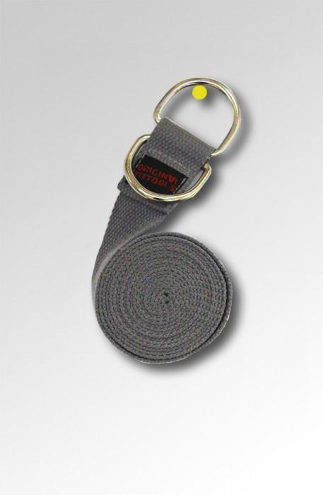 Ремешок для йоги 243 см, серый FT-YSTP-GREY