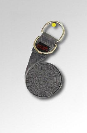Ремешок для йоги 243 см, серый FT-YSTP-GREY, фото 2