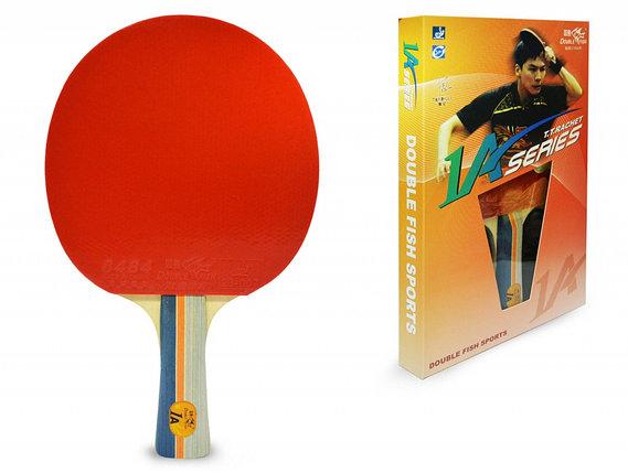 Ракетка для настольного тенниса DOUBLE FISH - 1А-С (ITTF), фото 2