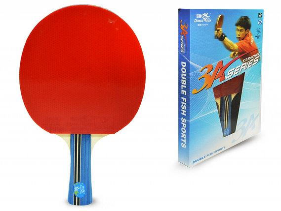 Ракетка для настольного тенниса DOUBLE FISH - 3А-С (ITTF), фото 2