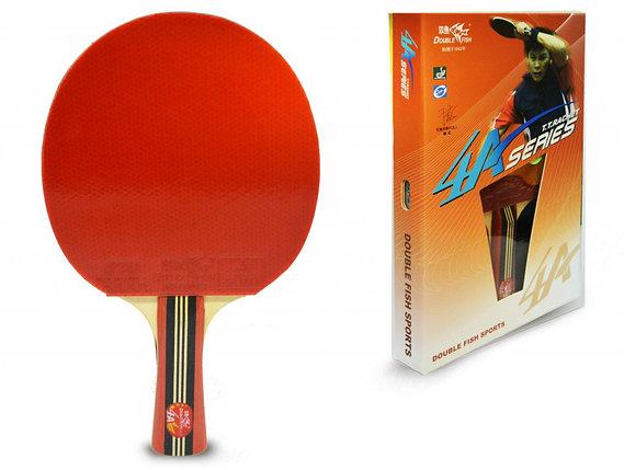 Ракетка для настольного тенниса DOUBLE FISH - 4А-С (ITTF), фото 2