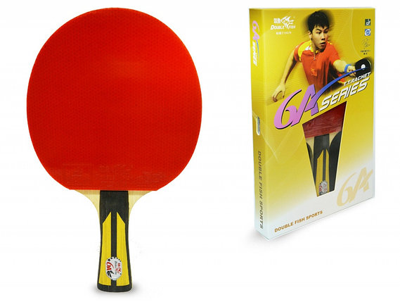 Ракетка для настольного тенниса DOUBLE FISH - 6А-С (ITTF), фото 2