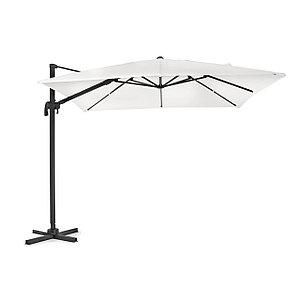 Зонт уличный квадратный Four Seasons с чехлом (3х3м), бежевый