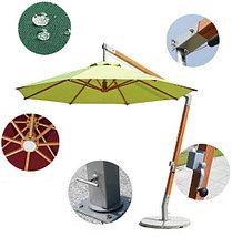 Зонт Wood Lux, 3х3м, квадратный, бежевый, фото 2