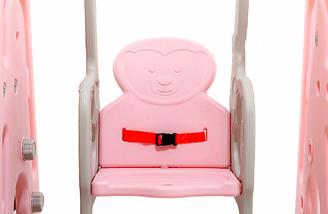 Детская горка-розовая с качелей, фото 3