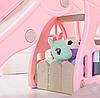 Детская горка-розовая с качелей, фото 4