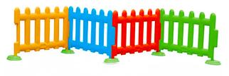 Детский игровой заборчик высокий, секционный (1 метр)