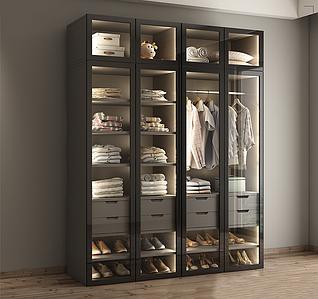 Шкаф прямой для гардеробной системы