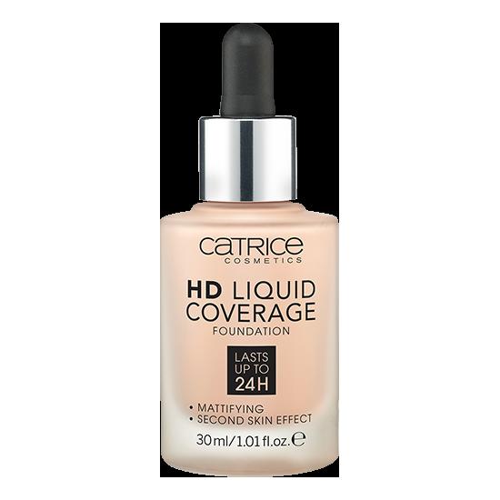 Тональная основа Catrice HD Liquid Coverage Foundation тон 010 Light Beige