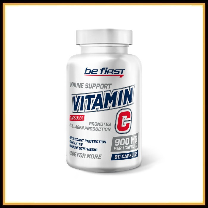 Be First Vitamin C 90капсул