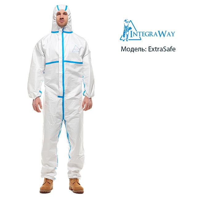 Медицинский одноразовый комбинезон IntegraWay ExtraSafe 4,5,6 категории защиты