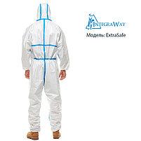 Медицинский одноразовый комбинезон IntegraWay ExtraSafe 4,5,6 категории защиты, фото 2