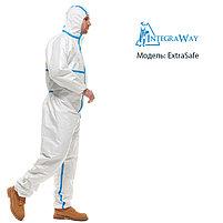 Медицинский одноразовый комбинезон IntegraWay ExtraSafe 4,5,6 категории защиты, фото 3