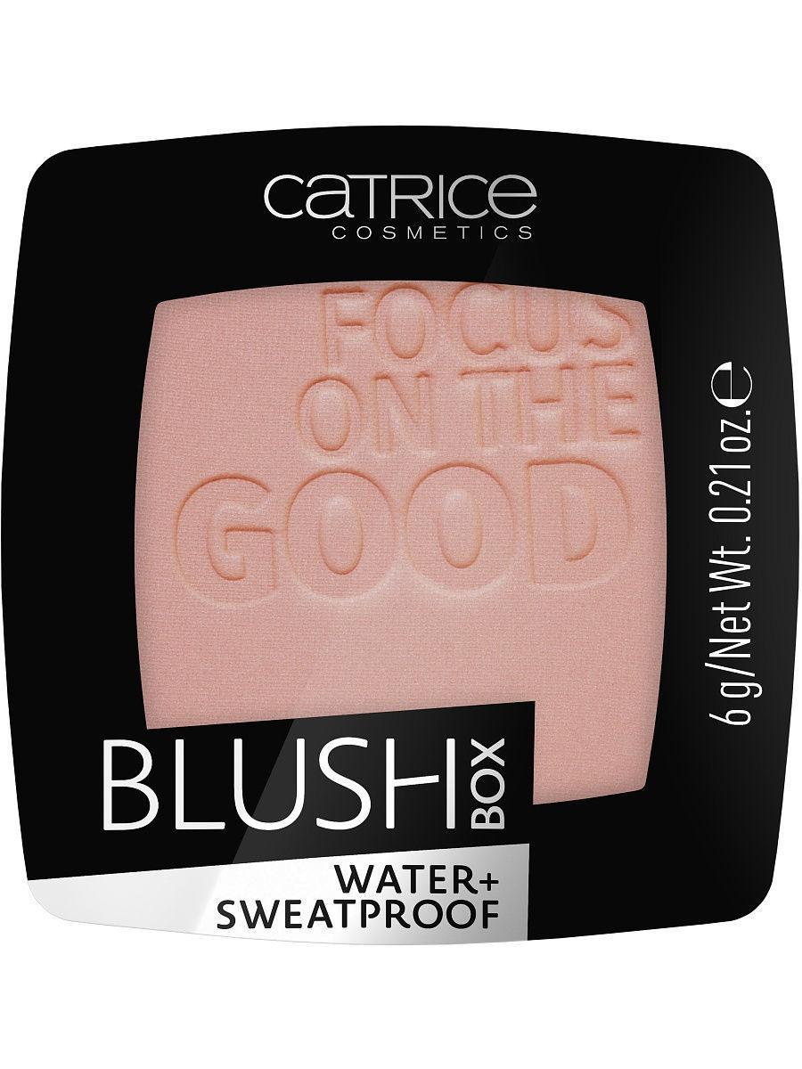 CATRICE. / Румяна BLUSH BOX 025 Nude Peach розовый персик