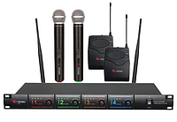 Микрофонная радиосистема US-4X (716.90/629.40/614.15/524.00)