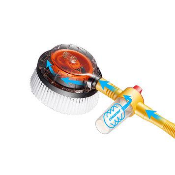 Вращающаяся щетка с насадкой для шланга Water Blast