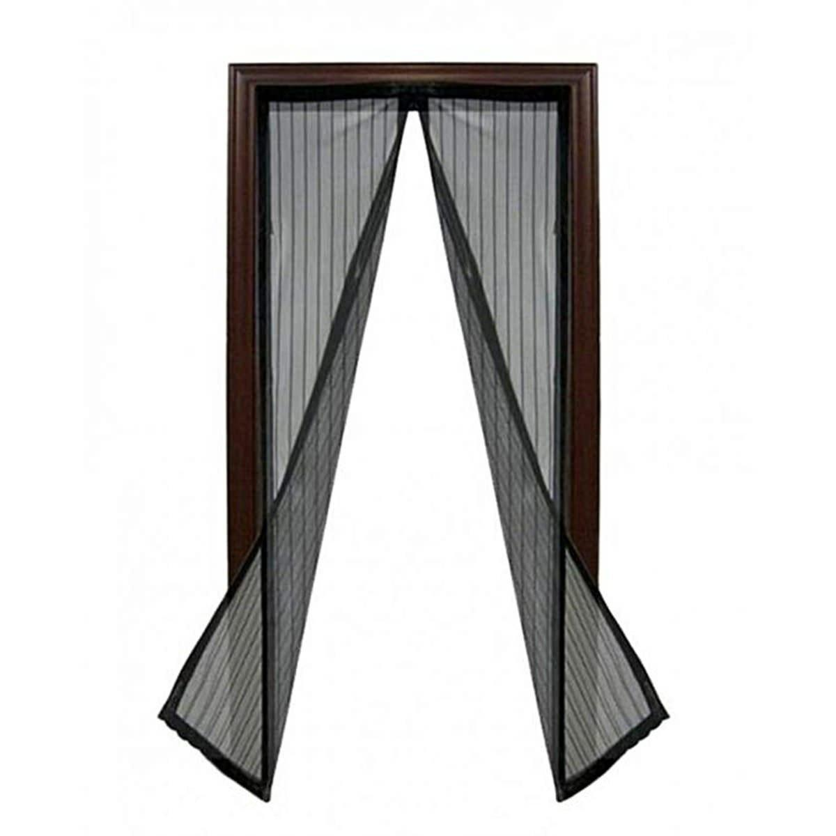Сетка-штора на двери от комаров и мух Magic Mesh (Меджик Меш)
