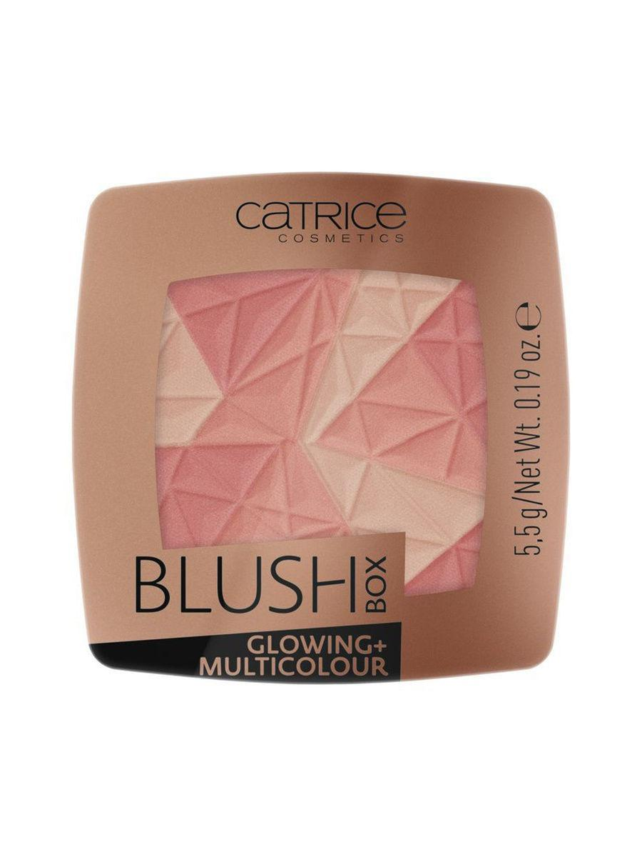 CATRICE. / Румяна Blush Box Glowing + Multicolour 010 Dolce Vita Цвет: розовый, персиковый