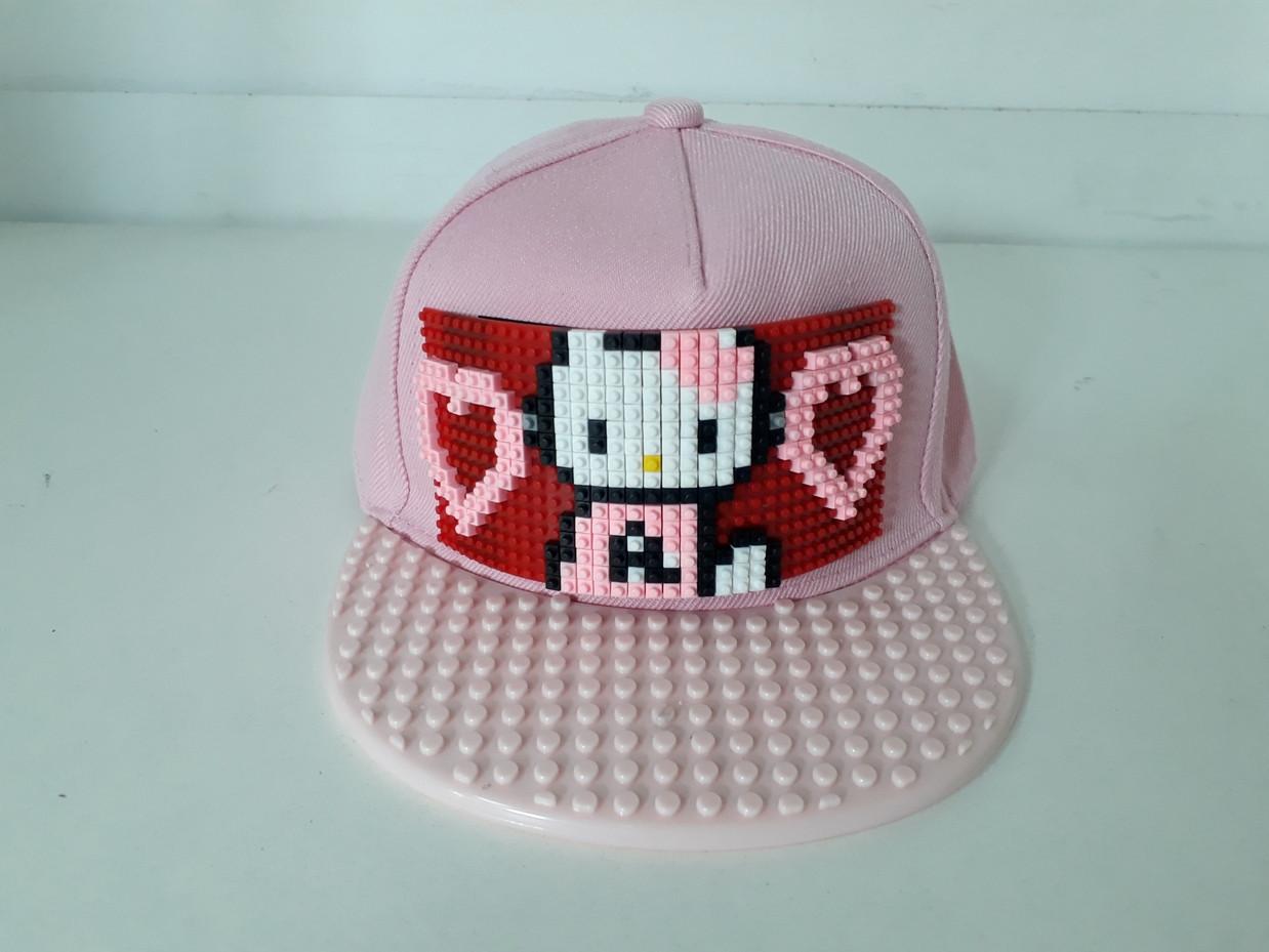 Кепка Лего для девочек. Hello Kitty