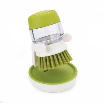 Щетка для мытья посуды с дозатором моющего средства