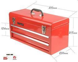 (TBD132G(tb132)) Ящик инструментальный (2 выдвижных полки, откидной верх)