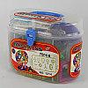 Магнитный конструктор 70 предметов для детей, фото 3