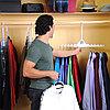 Складная двойная вешалка для одежды, фото 4
