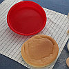 Круглая силиконовая форма для выпечки Гурмэ, фото 6