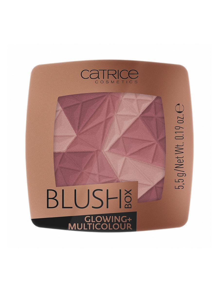 CATRICE. / Румяна BLUSH BOX Blush Box Glowing + Multicolour 020 Its wine oclock Цвет: темно-розовый