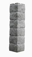 Угол Наружний Белый 589х155х155 мм Скол Дачные FINEBER
