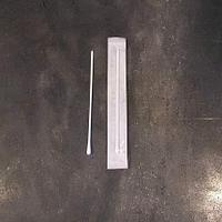 Тампон в пробирке 12*150мм с пластиковой ручкой, без среды, стерильный