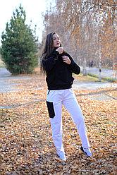 Спортивные брюки, белые