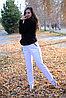 Спортивные брюки, белые, фото 4