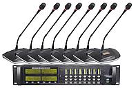 Профессиональная многоканальная беспроводная дискуссионная радиосистема USC-101T