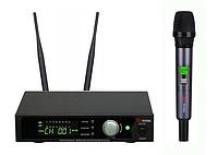 Профессиональная микрофонная радиосистема US-101 with aluminuim case (600-636MHZ)