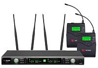Профессиональная микрофонная радиосистема US-102H (600-636MHZ)