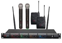 Микрофонная радиосистема US-4X (725.80/622.665/520.10/490.21)