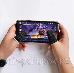 Сенсорные многоразовые напалечники для игр на смартфоне, 2 шт