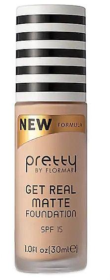 Flormar Pretty Get Real Matte Foundation Матирующая тональная основа