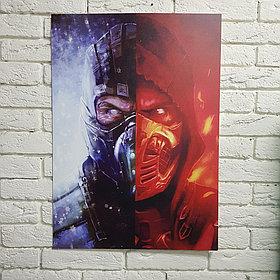 Постер Саб-Зиро, Скорпион - Mortal Kombat