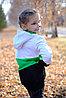 Толстовка удлиненная  с капюшоном детская, от 2х до 5 лет, фото 2