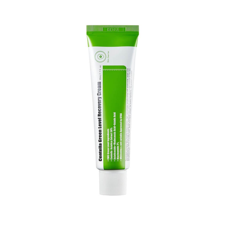 Восстанавливающий крем с центеллой PURITO Centella Green Level Recovery Cream, 50мл