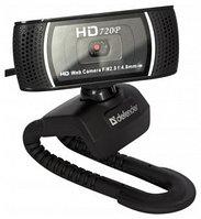 WEB-камера Defender G-lens 2597 HD 720p, 2МП, USB, универ. крепление. веб-камера высокой четкости, п, фото 1