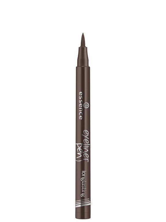 Essence. / Подводка для глаз Eyeliner pen longlasting 03 коричневая