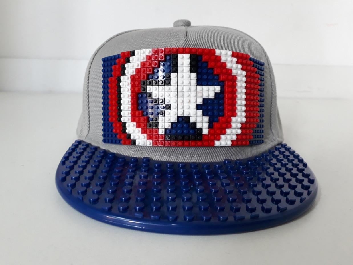 Кепка Lego для мальчиков и девочек Capitan America. Бейсболка