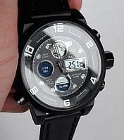 Мужские наручные военные водонепроницаемые противоударные часы AMST AM-8147. В описании видео обзор!