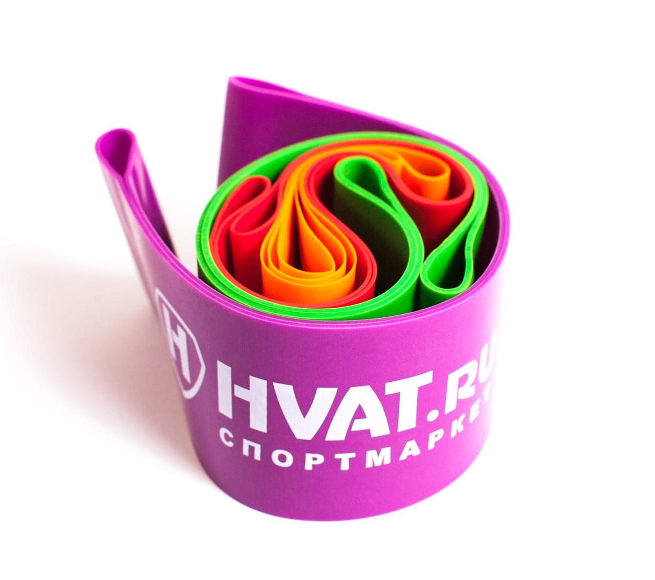 Набор резинок эспандеров для фитнеса HVAT. (Мини-петли) для фитнеса, набор в чехле - фото 6